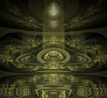 Emanation of Source by Craig Hitchens - Spiritual Digital Art