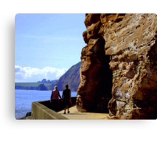 A Relaxing Stroll Canvas Print