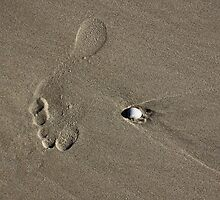 One Large Footprint by Kristine Kowitz