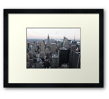NYC View Framed Print