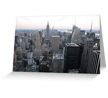 NYC View Greeting Card