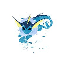 Graffiti Vaporeon Photographic Print