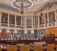 USA. Massachusetts. Boston. State House. Senate Chamber. by vadim19