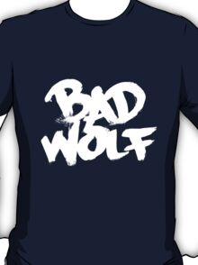 Bad Wolf #2 - White T-Shirt