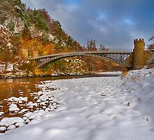 CRAIGELLACHIE - WINTERS BRIDGE by JASPERIMAGE