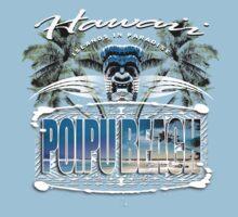 poipu beach hawaii by redboy