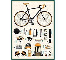 Bike gear Photographic Print