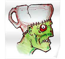 coffee zombie no text Poster