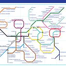 Metabolism - Tube Map by Zephyris