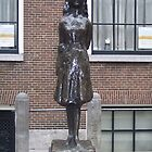 A Statue of Anne Frank by CadburyKeepsake