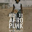 Red Bike & Green Tour to AfroPunk - Poster by redbikegreen