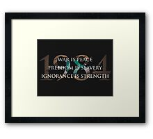 Nineteen Eighty-Four [1984] Framed Print