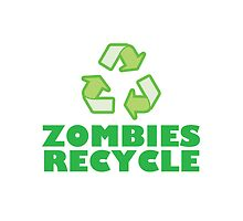 Zombies Recycle by azummo