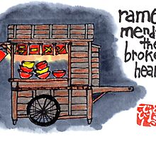 The Ramen Vendor's Cart by dosankodebbie