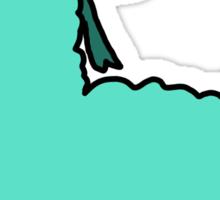 Bow Alpaca Sticker