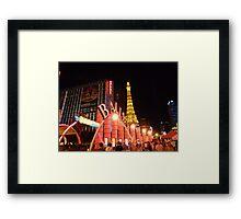 Ballys Las Vegas Framed Print