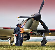 Hurricane - Duxford Flying Legends 2013 by Colin J Williams Photography