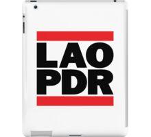 LAO PDR iPad Case/Skin