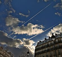 Paris Gare du Nord Terminus Sky by Grimm Land