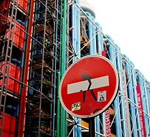 Paris Centre Pompidou by Grimm Land