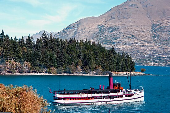 Wakatipu Steamer by phil decocco