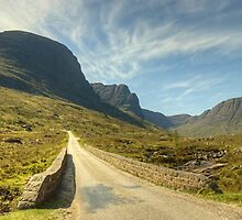 A Highland Road by VoluntaryRanger