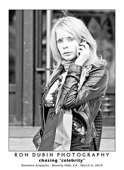 Rosanna Arquette - Can You Hear Me Now? by Ron Dubin