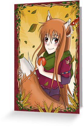 "Horo ""Spice & Wolf"" by Annaka"