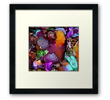 He's Got the WHOLE WORLD in HIS HANDS Framed Print