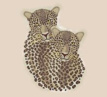 Leopard Couple by Lisann