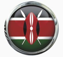 Kenya Flag by 3Dflags