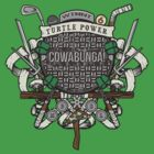 Turtle Power!! by Arinesart