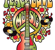 Peace-Love-Music by Lisann