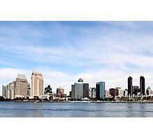 San Diego Skyline Photographic Print