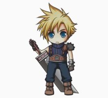 Cloud Strife Sticker by banafria