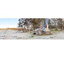 Frosty Guys Hut, Alpine National Park, Victoria, Australia Photographic Print