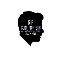 Rest In Peace Cory by LauraWoollin