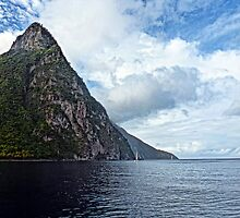One Piton/St. Lucia by globeboater