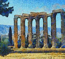 Temple Of Zeus by doggylips