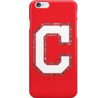 Cleveland Glitter C iPhone Case/Skin