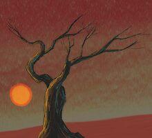 Red Sun by ArtisVast
