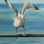 Seagull by Lynne  Kirby