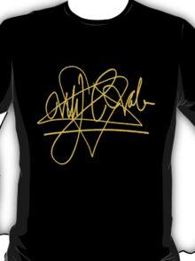 Ville Valo - Signature - Gold T-Shirt