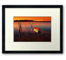 The Boat # 2 Framed Print