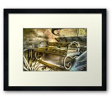 When the limo breaks down ... Monte Cristo ~ Junee NSW Framed Print