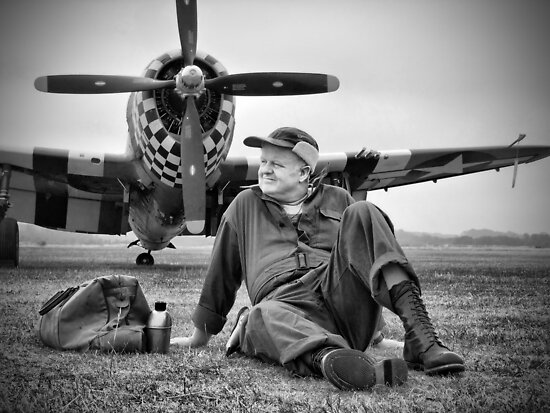 A Hot Summer - Duxford Flying Legends 2013 by Colin J Williams Photography