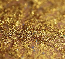 Glittery Gold by tnmgraphics