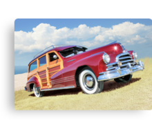 Red Woody Canvas Print