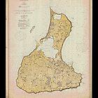 Vintage Print Image of Block Island - 1914 by aocimages