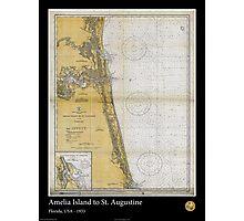 Vintage Print of St. Augustine and Amelia Island - 1933 Photographic Print